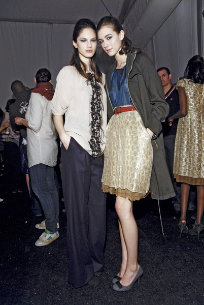 Lela Rose Fall 2008 - Backstage