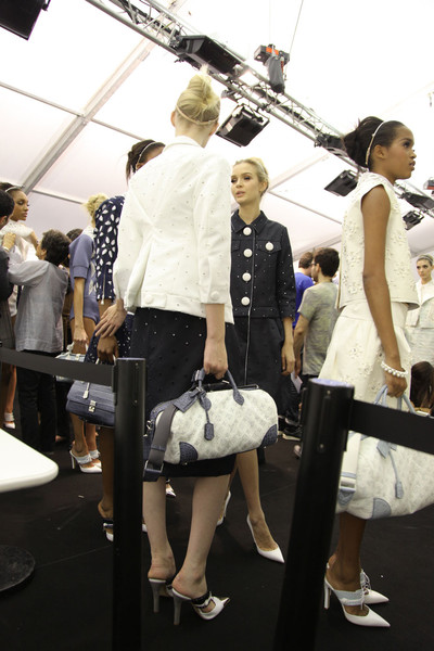 Louis Vuitton Spring 2012 - Backstage