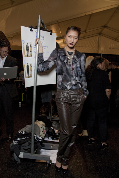 Luca Luca Fall 2010 - Backstage