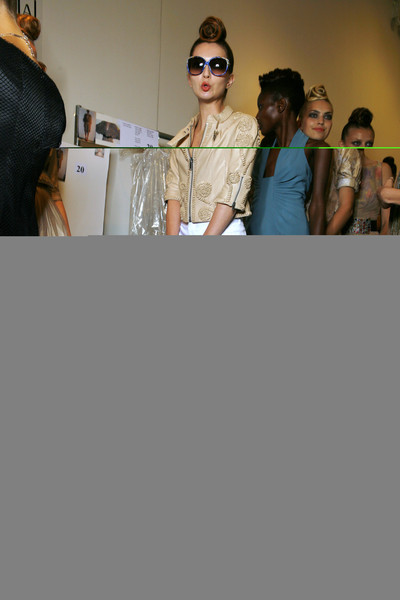 Malandrino at New York Spring 2009 (Backstage)