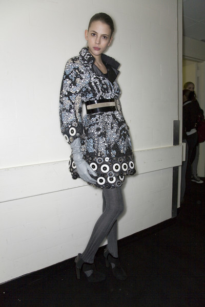 Malo at New York Fall 2008 (Backstage)