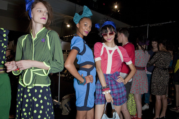 Marc by Marc Jacobs Spring 2010 - Backstage