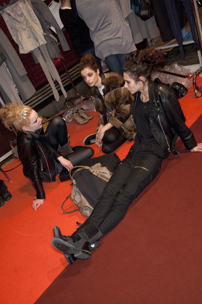 Marithé + François Girbaud at Paris Fall 2009 (Backstage)