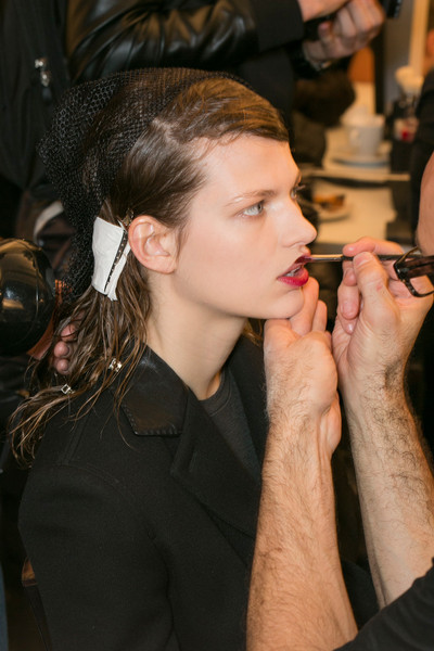 Marni at Milan Fall 2013 (Backstage)