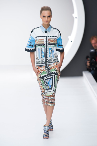 Mary Katrantzou at London Spring 2013