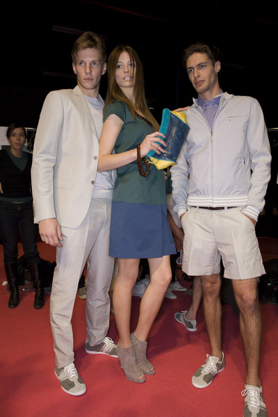 Massimo Rebecchi at Milan Spring 2009 (Backstage)