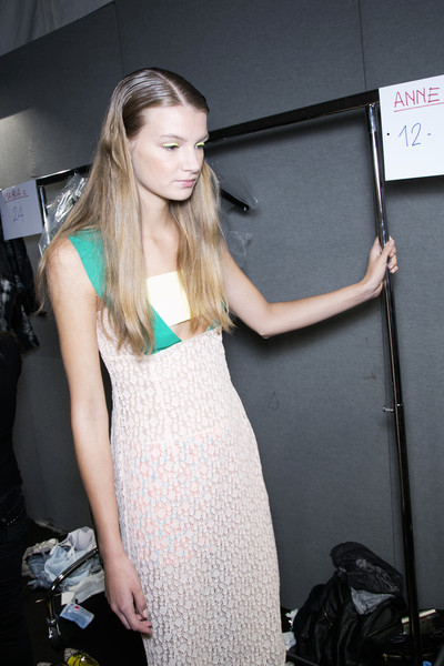 Massimo Rebecchi at Milan Spring 2014 (Backstage)