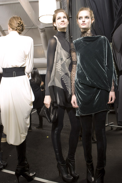 Max Azria Fall 2009 - Backstage
