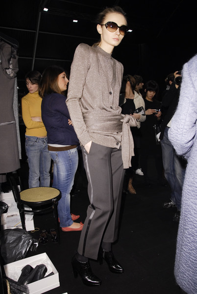 MaxMara Fall 2008 - Backstage