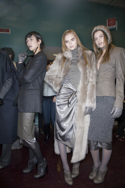 MaxMara Fall 2009 - Backstage