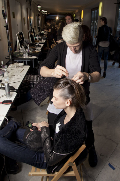 Missoni Fall 2012 - Backstage