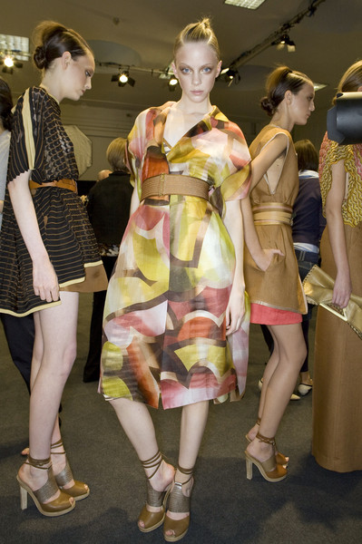 Missoni Spring 2009 - Backstage