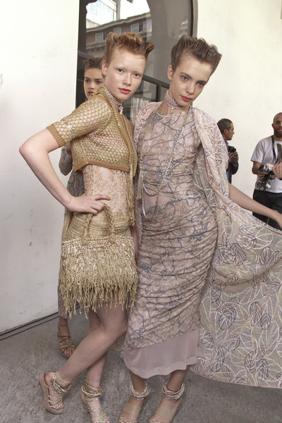 Missoni Spring 2010 - Backstage