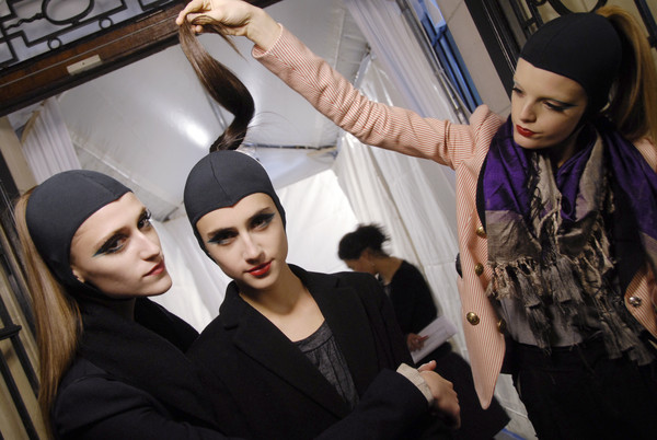 Miu Miu Fall 2008 - Backstage
