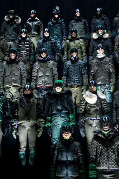 Moncler Grenoble at New York Fall 2013