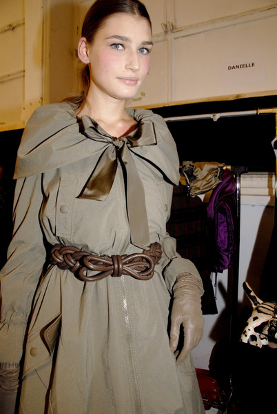 Moschino Cheap & Chic Fall 2007 - Backstage