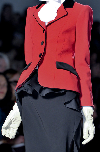 Moschino at Milan Fall 2011 (Details)