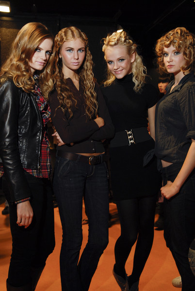 NEW UPCOMING at Milan Spring 2008 (Backstage)