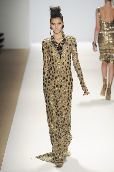 Naeem Khan at New York Fall 2010