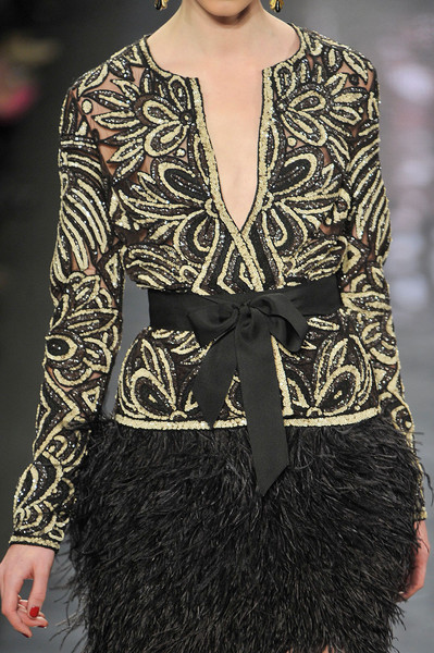 Naeem Khan Fall 2012 - Details