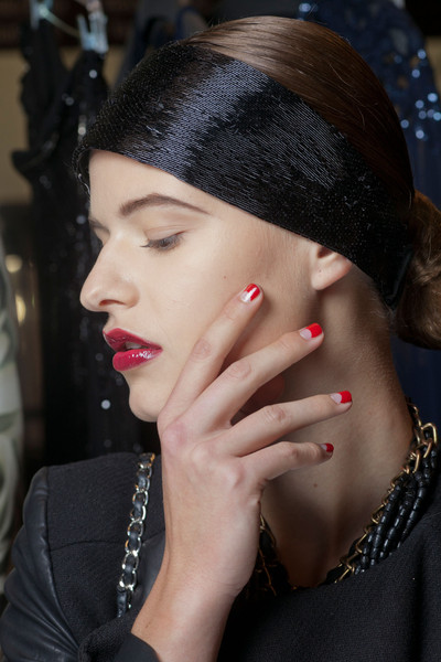 Best Spring 2013 Runway Nails - Naeem Khan