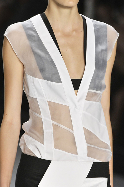 Narciso Rodriguez at New York Spring 2012 (Details)