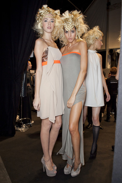 New Upcoming Designers Spring 2013 - Backstage