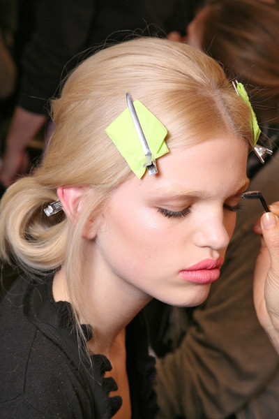 Nina Ricci at Paris Fall 2011 (Backstage)