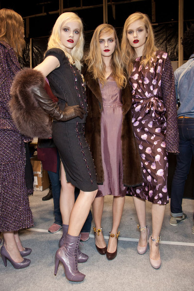 Nina Ricci Fall 2012 - Backstage