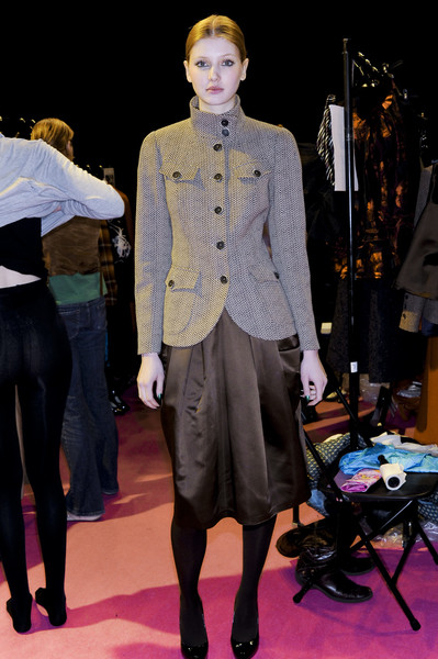 Paul Costelloe Fall 2008 - Backstage