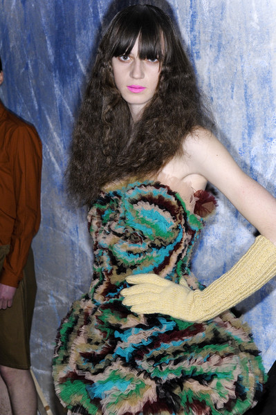 Peter Jensen Fall 2008 - Backstage