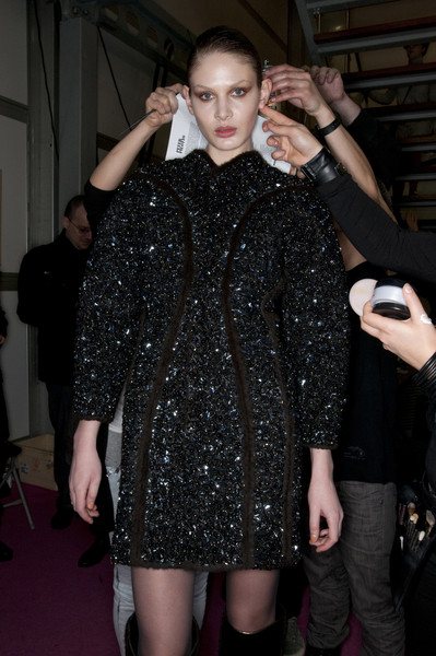 Peter Pilotto Fall 2009 - Backstage