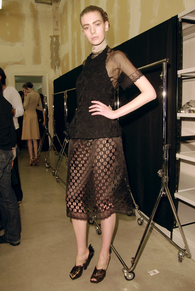 Prada Fall 2008 - Backstage