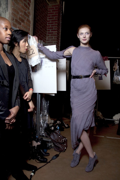 Preen Fall 2010 - Backstage