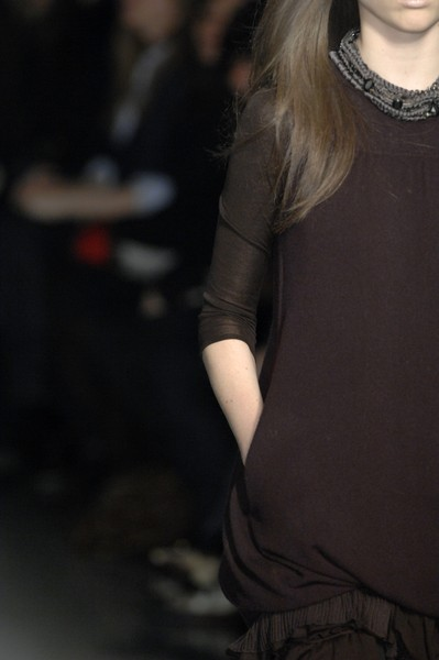 Pringle of Scotland at Milan Fall 2007 (Details)