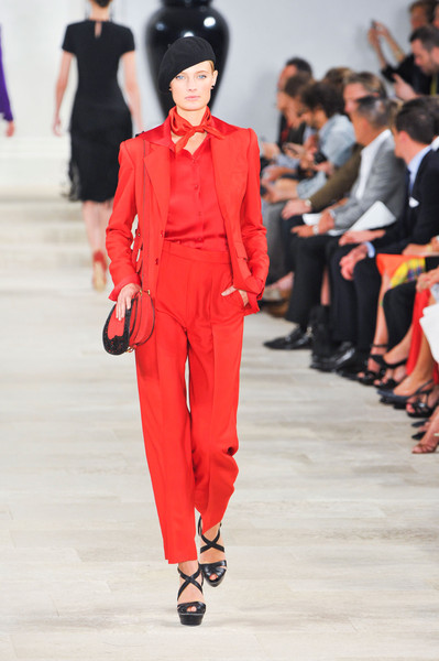 Ralph Lauren at New York Spring 2013