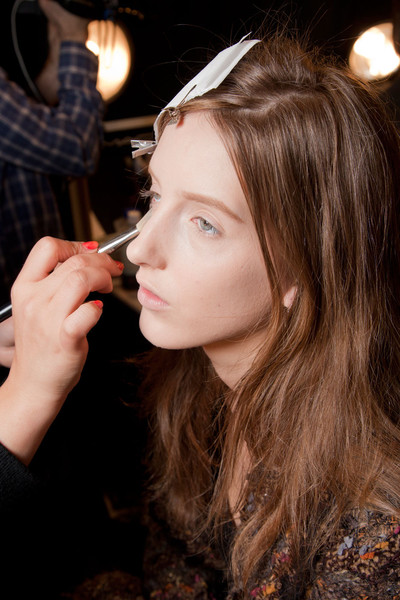 Rebecca Taylor at New York Fall 2012 (Backstage)