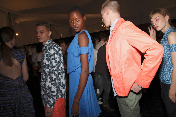 Richard Chai Love Spring 2012 - Backstage