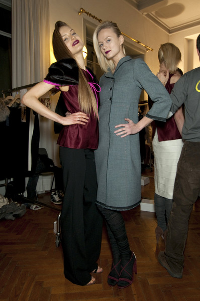 Roberto Musso Fall 2010 - Backstage