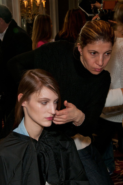 Roland Mouret Fall 2012 - Backstage