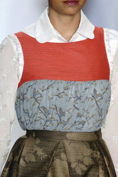 Sabyasachi at New York Spring 2007 (Details)