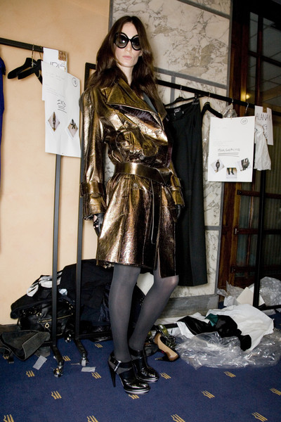 Salvatore Ferragamo Fall 2008 - Backstage