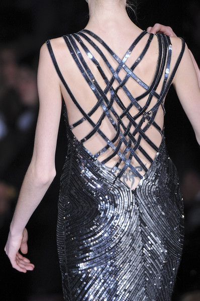 Seduzioni Diamonds Valeria Marini at Milan Fall 2009 (Details)
