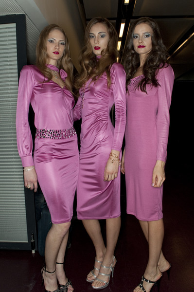 Seduzioni Diamonds Valeria Marini Fall 2010 - Backstage