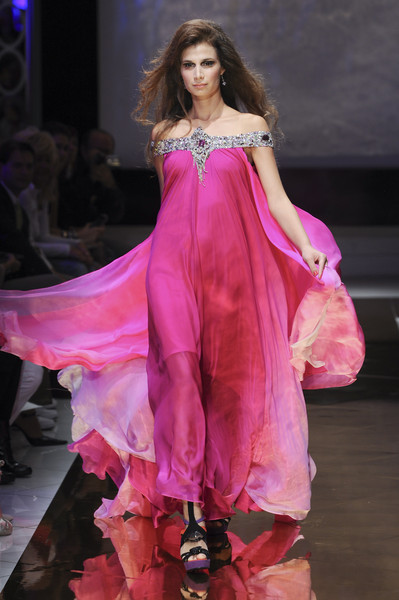 Seduzioni Diamonds Valeria Marini at Milan Spring 2011