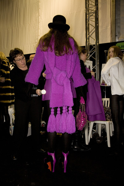 Sonia Rykiel Fall 2008 - Backstage