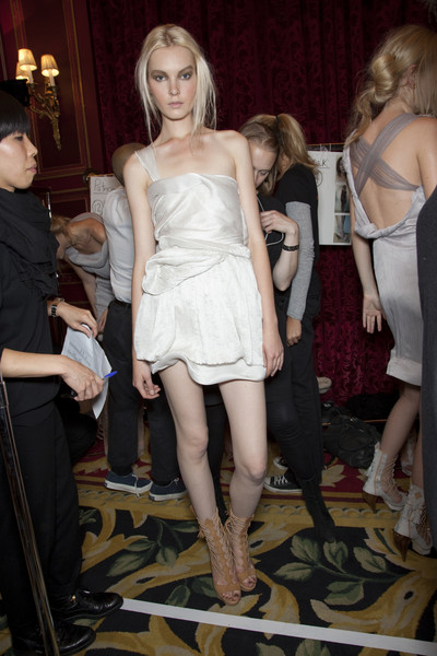Sophia Kokosalaki at Paris Spring 2010 (Backstage)