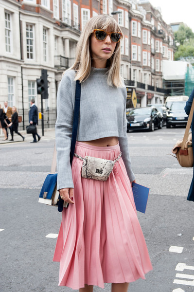 Fanny Pack - Best Street Style at London Fashion Week