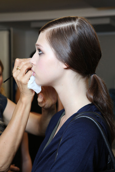 Tory Burch at New York Spring 2012 (Backstage)