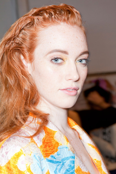 Tracy Reese Spring 2013 - Backstage